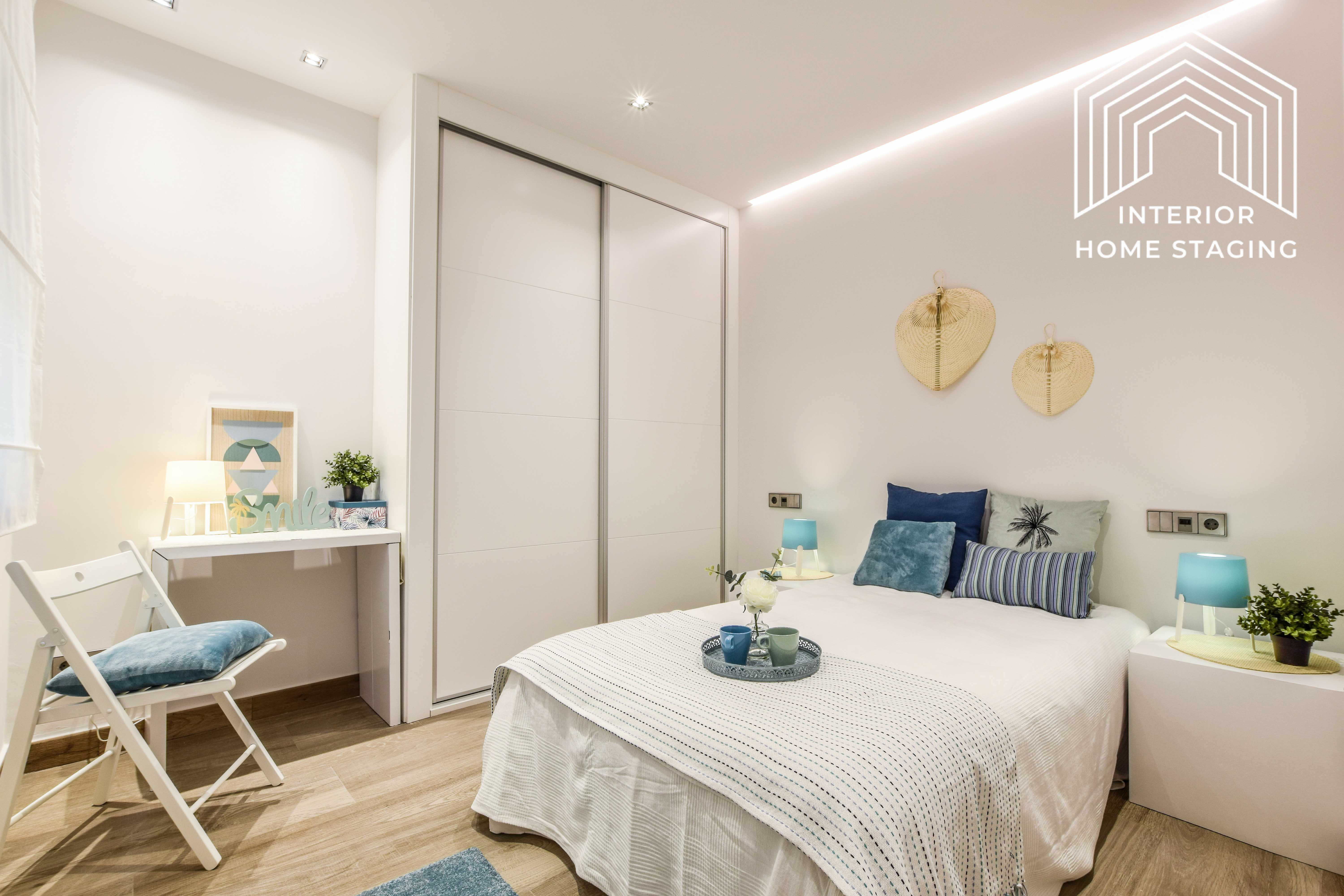 Interior Home Staging dormitorio doble 5