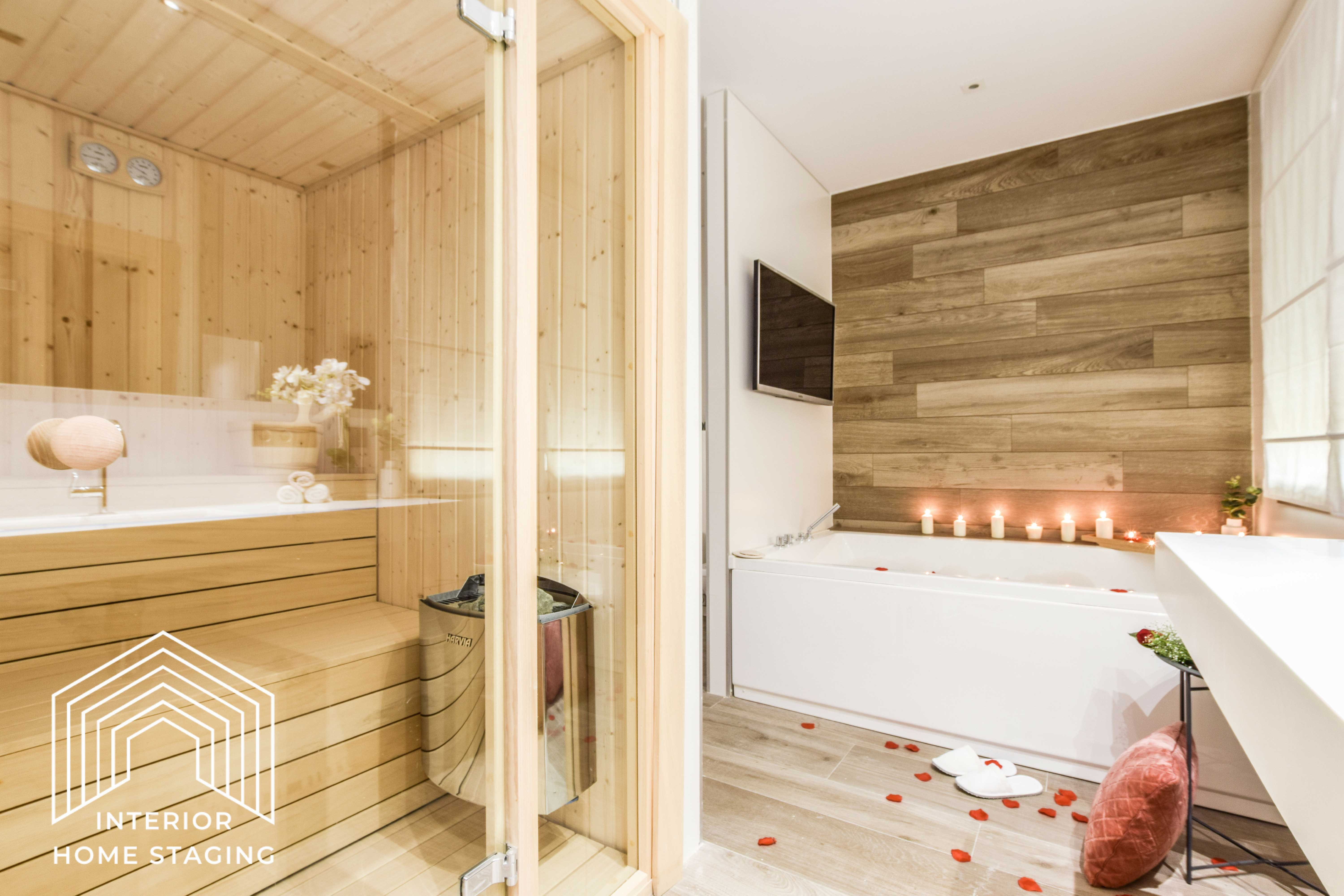Interior Home Staging jacuzzi baño 3