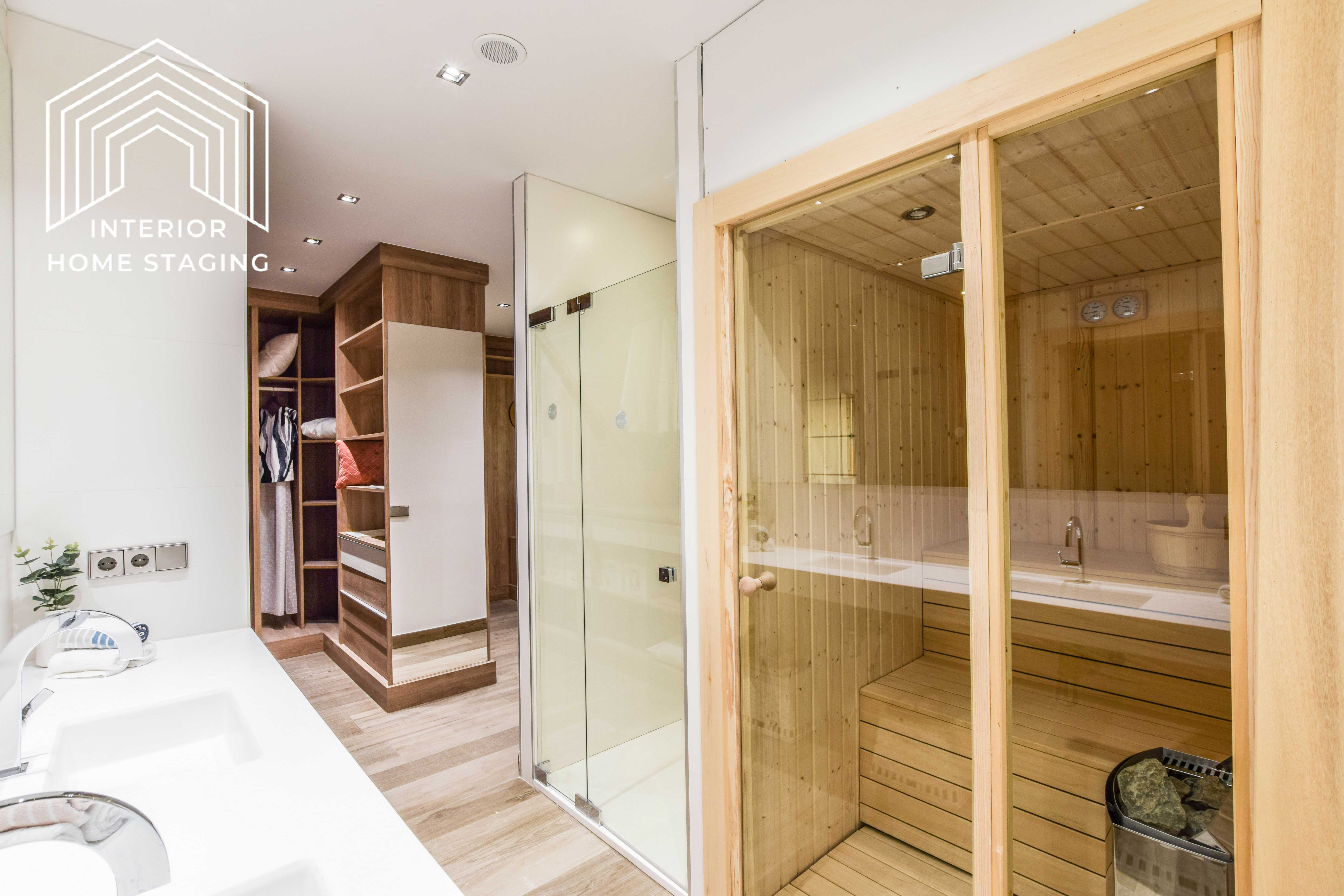 Interior Home Staging jacuzzi baño 4
