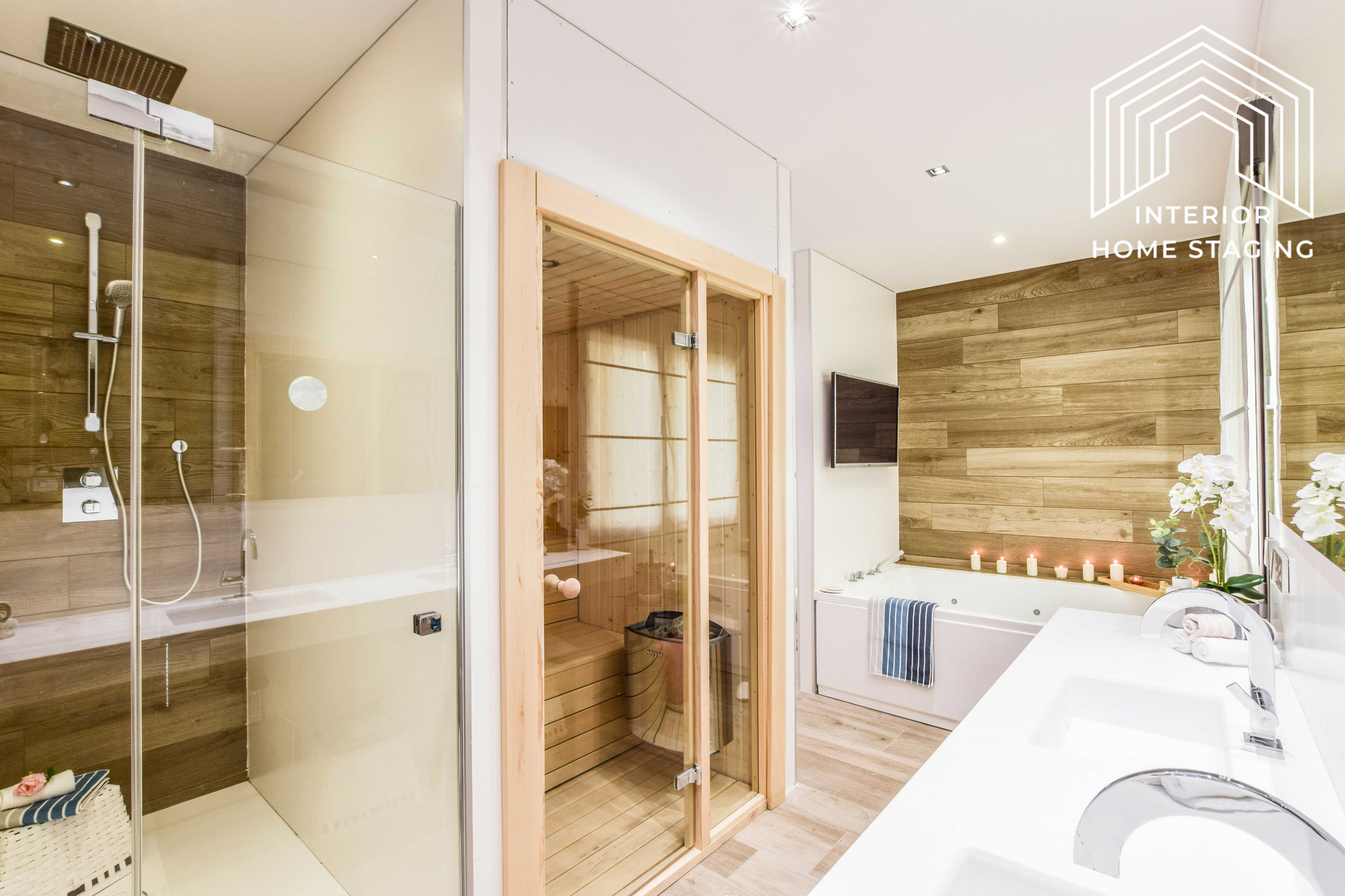 Interior Home Staging jacuzzi baño 5