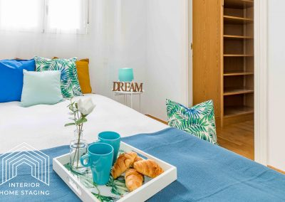 Home Staging dormitorio Lavapies Madrid