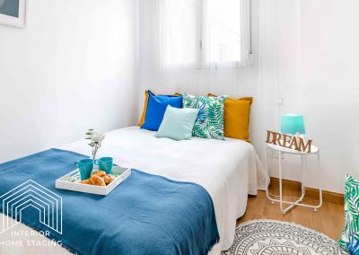 Home Staging dormitorio zona centro Madrid