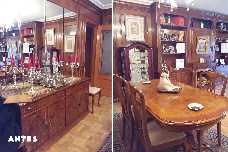 Fotos Antes Home Staging casa habitada 2