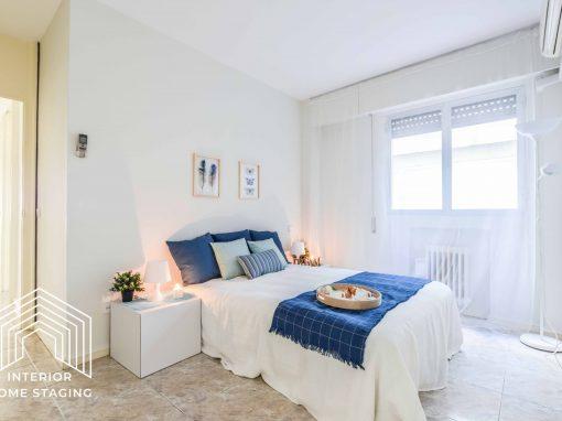 HOME STAGING en vivienda Barrio Salamanca para alquiler