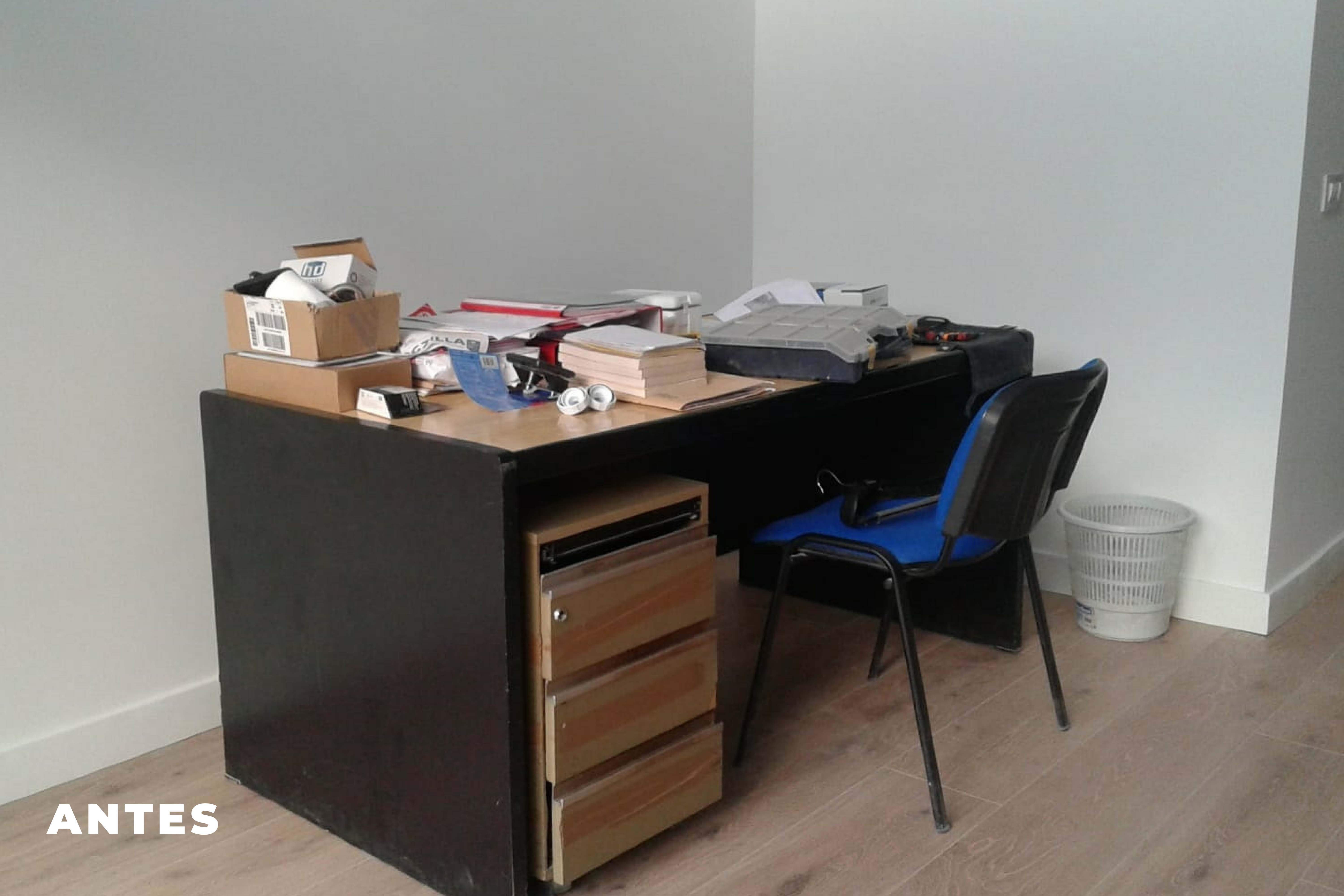 Home Staging Loft antes 2