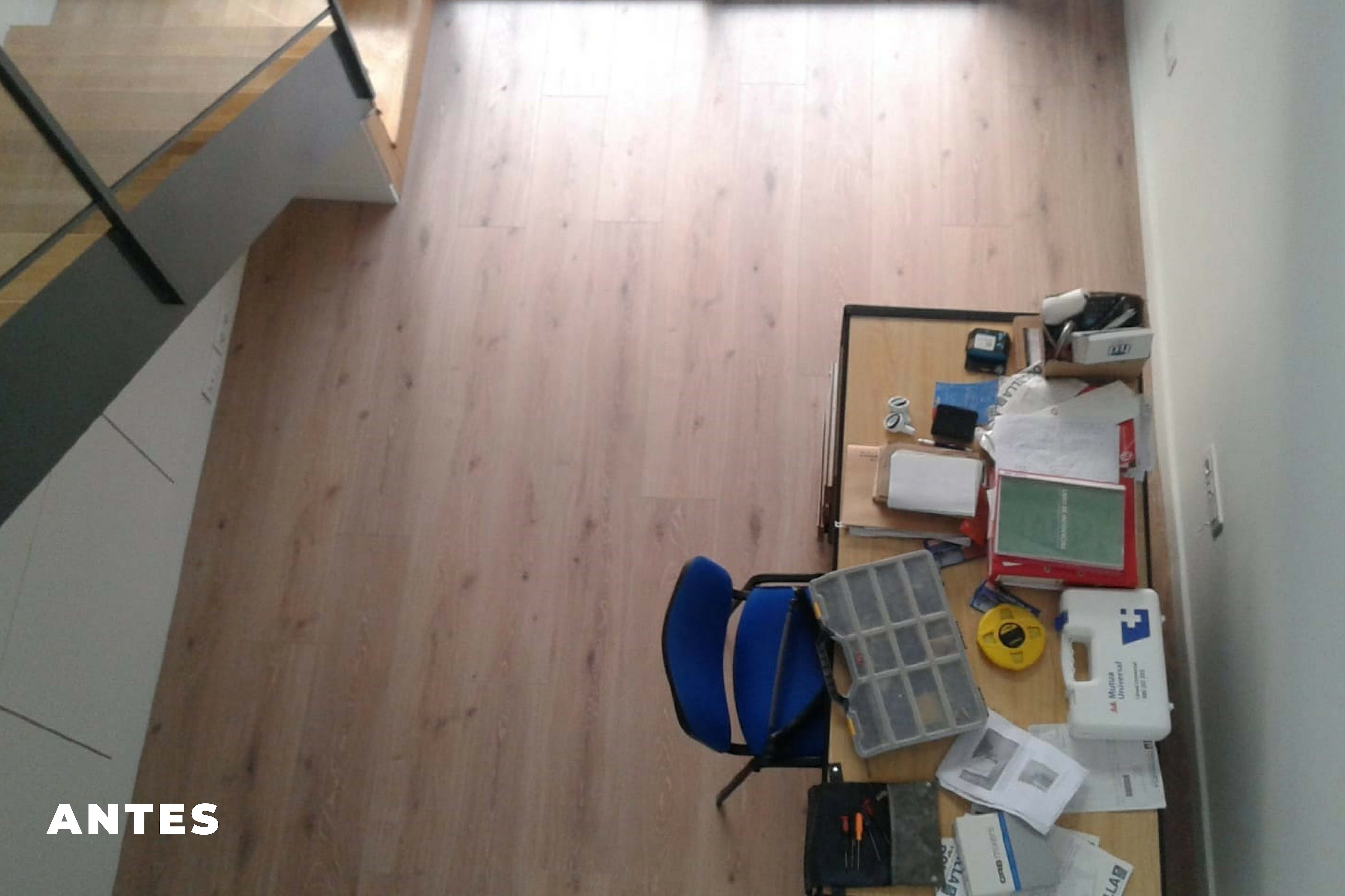 Home Staging Loft antes