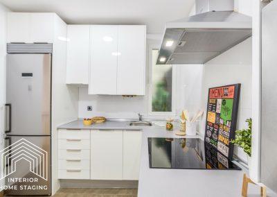 Interior Home Staging Chamberi cocina
