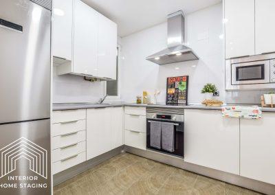 Interior Home Staging Chamberi cocina 2