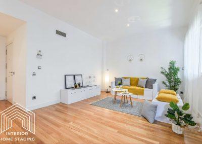 Interior Home Staging Chamberi salón 5