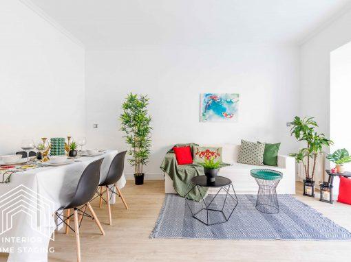 HOME STAGING vivienda en venta zona de Río Rosas Madrid