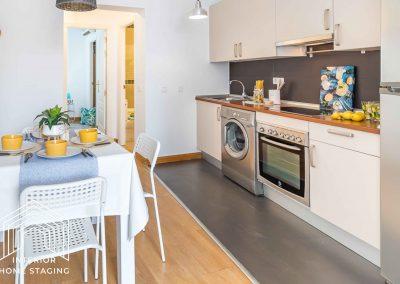 Puesta en escena casa en venta Madrid