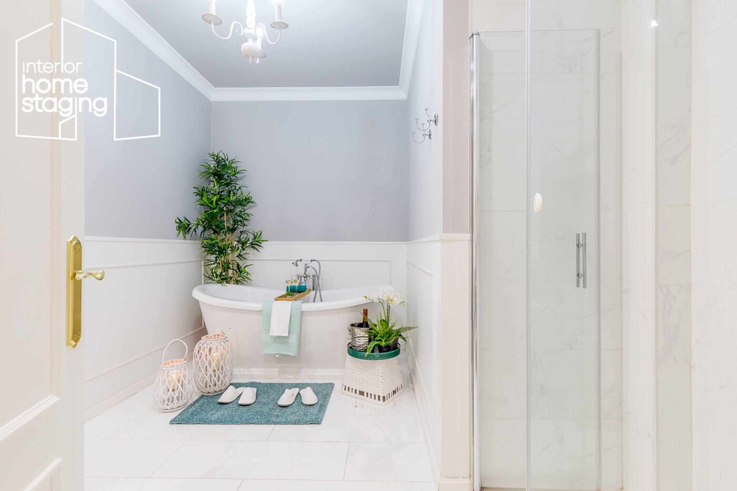 Decoración baño para casa en venta Barrio de Salamanca