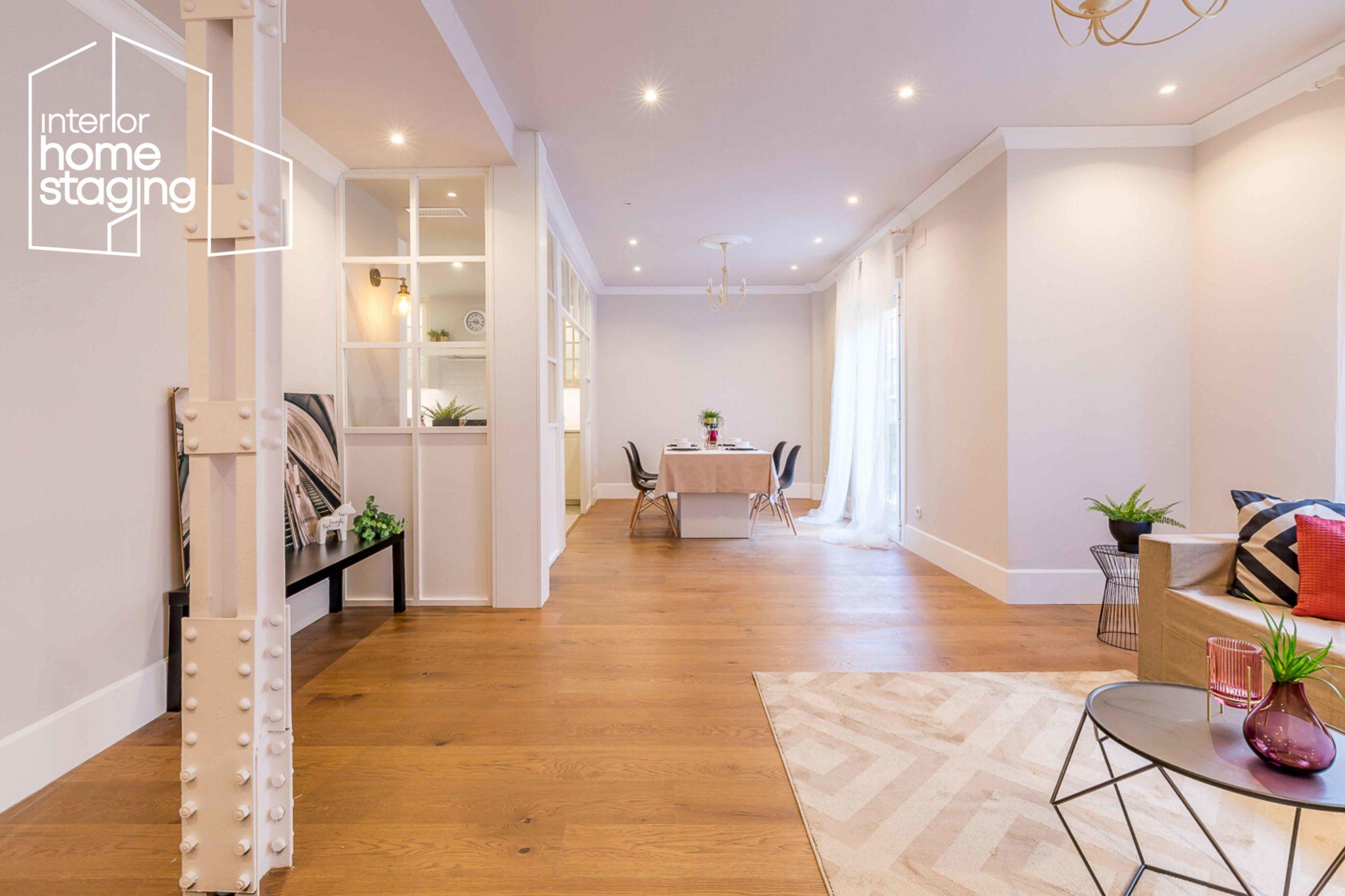 Decoración casa para vender Barrio Salamanca