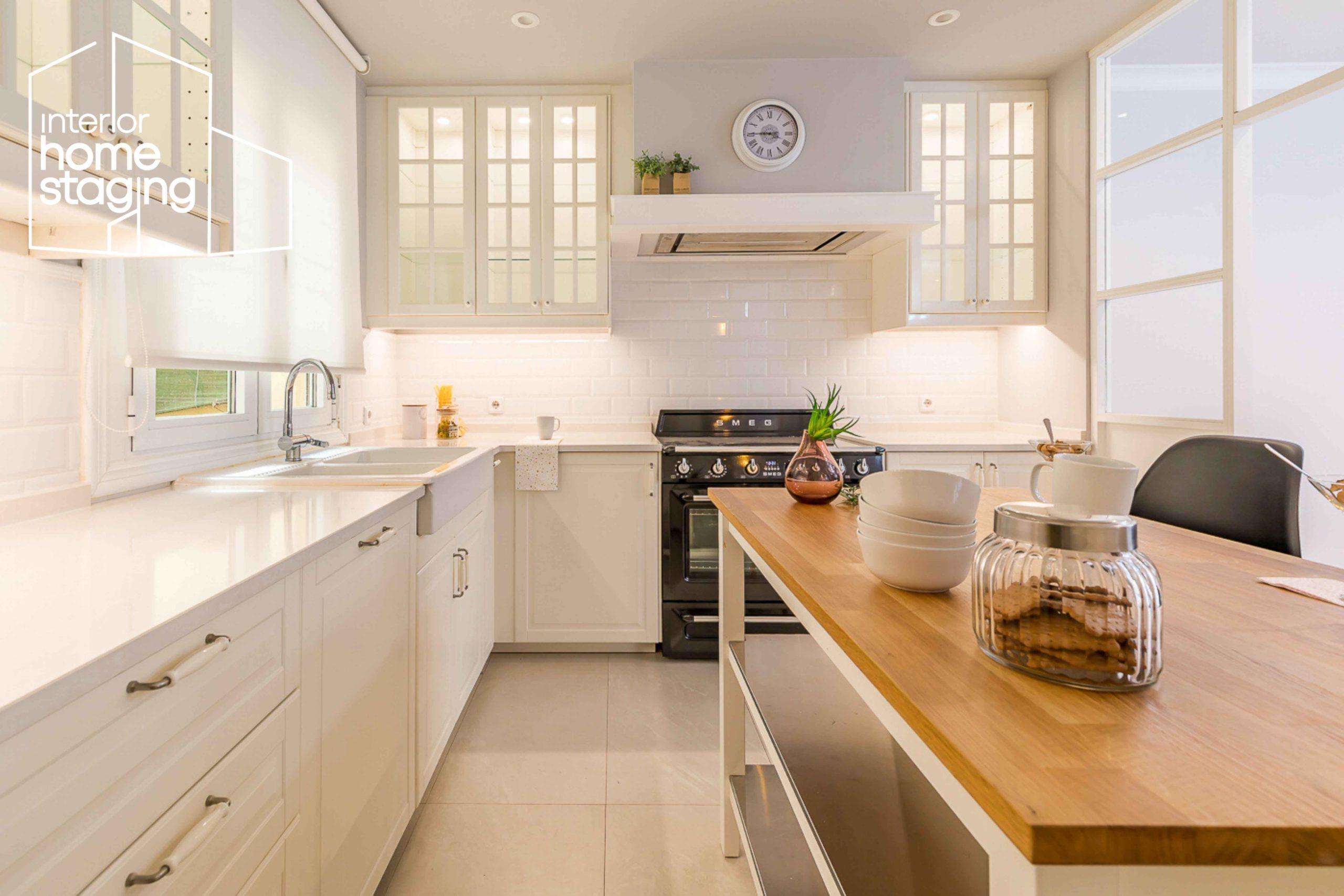 Decorar cocina para vender Barrio Salamanca