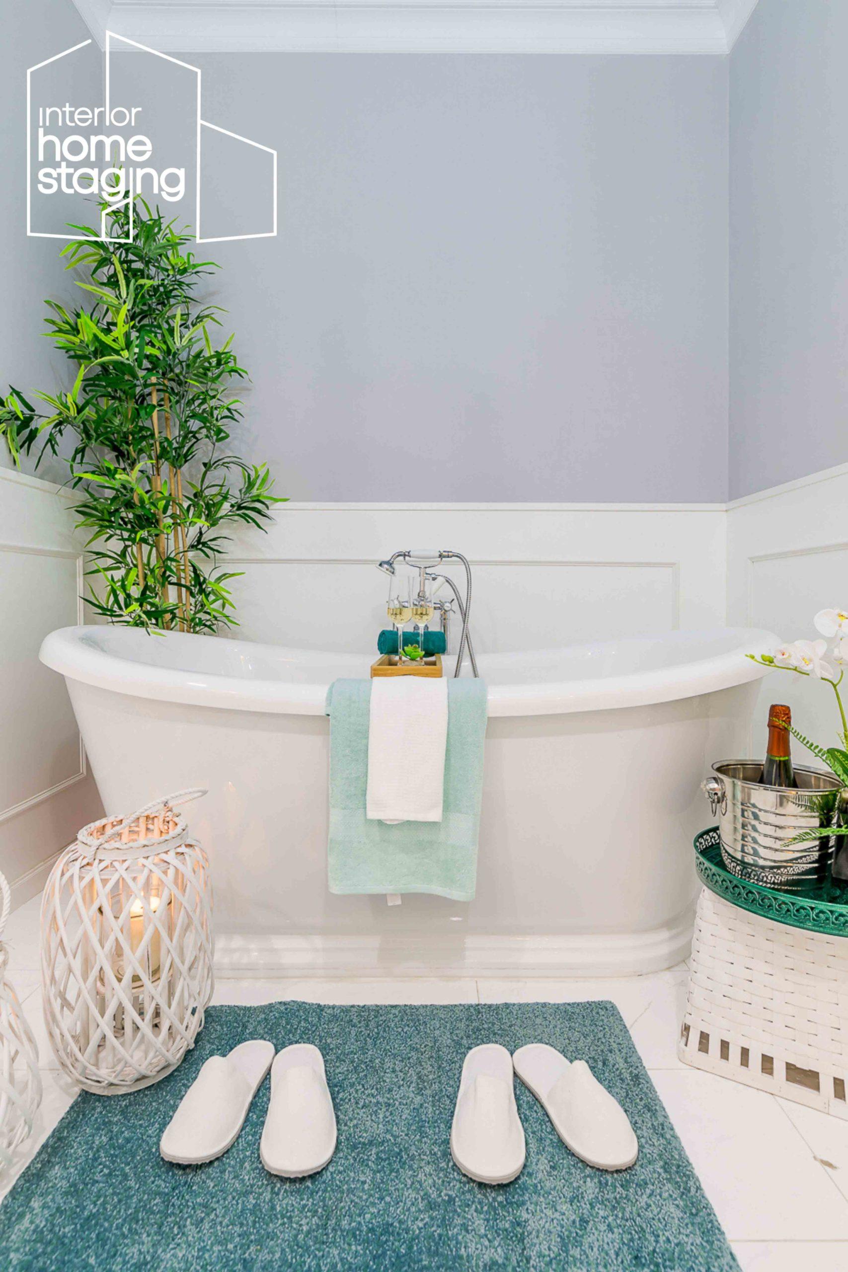Home Staging baño vivienda en venta Madrid