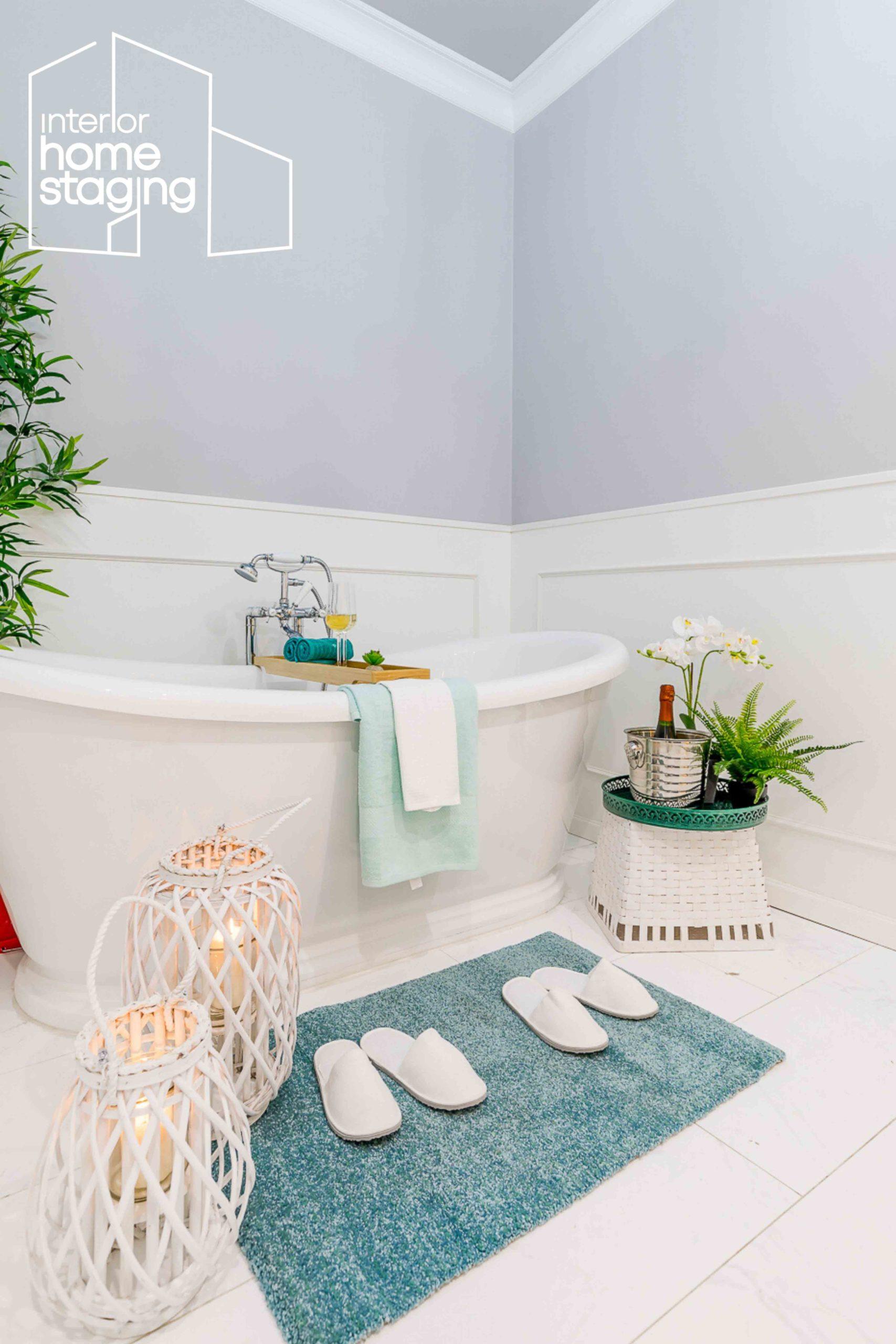 Home Staging baño vivienda venta Barrio de Salamanca