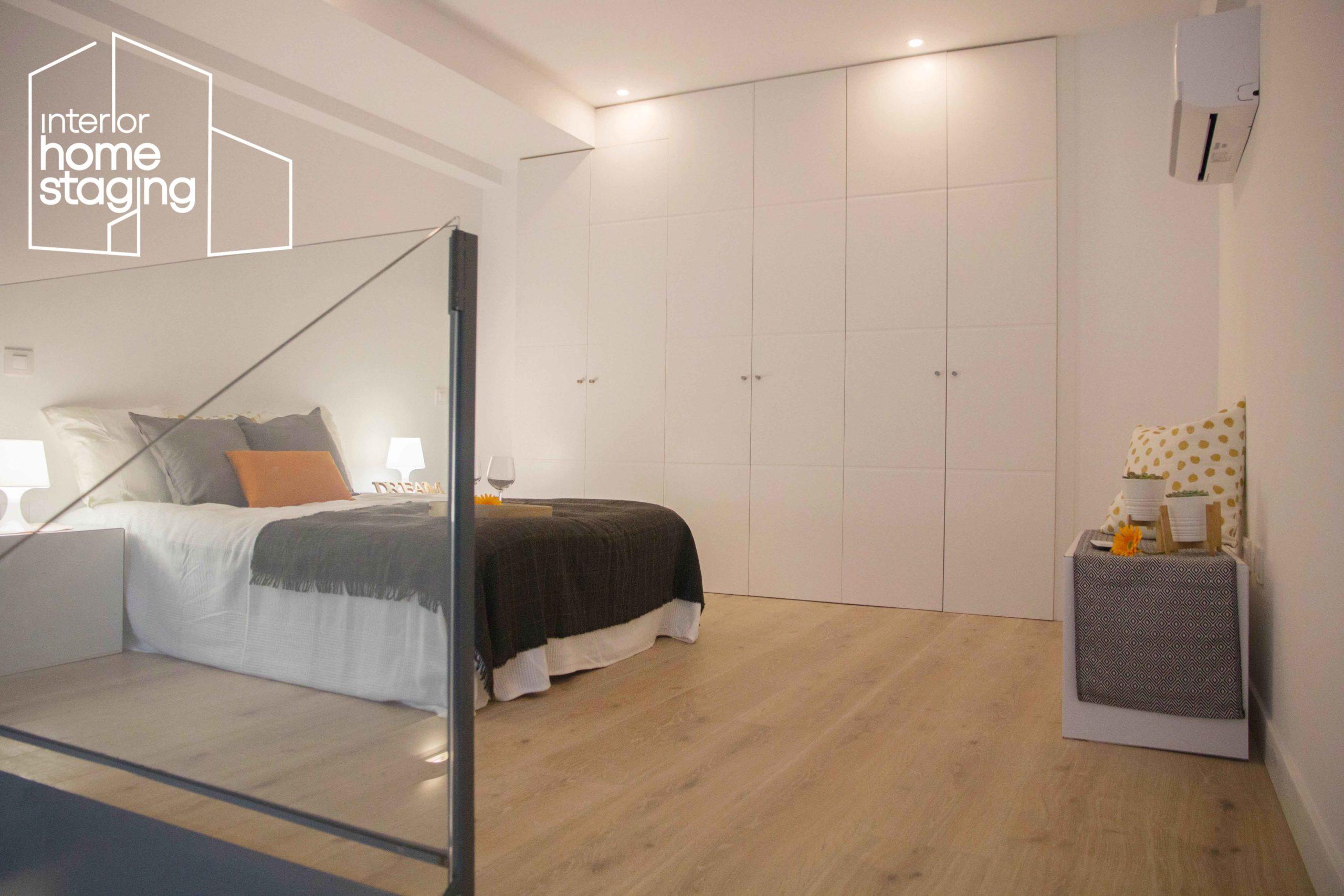 Home Staging dormitorio Loft Madrid