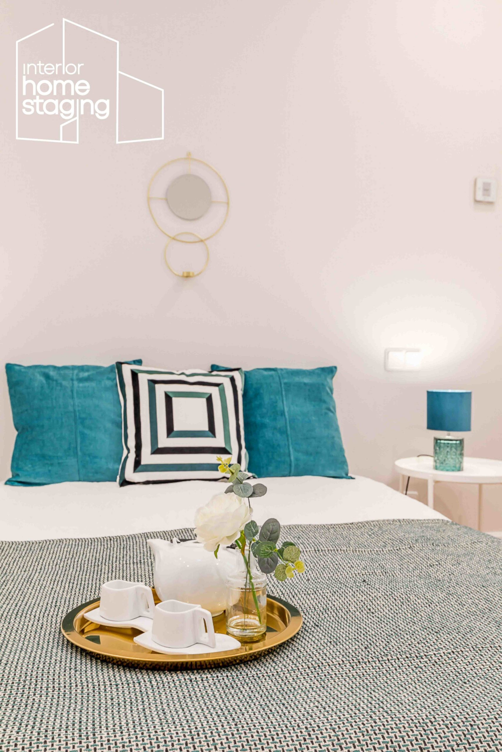 Home Staging dormitorio casa en venta Barrio Salamanca 2
